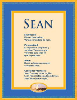 Nombre Sean