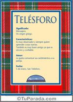 Nombre Telésforo