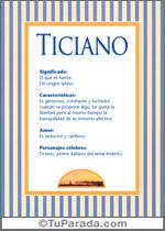 Nombre Ticiano