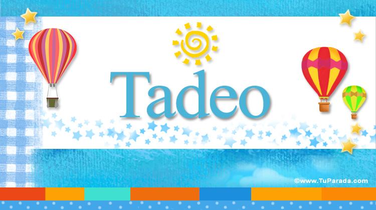 Tadeo, imagen de Tadeo