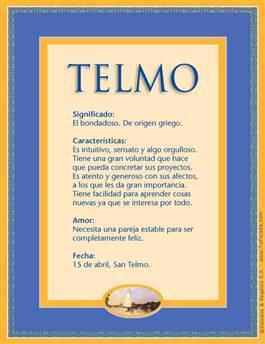 Nombre Telmo