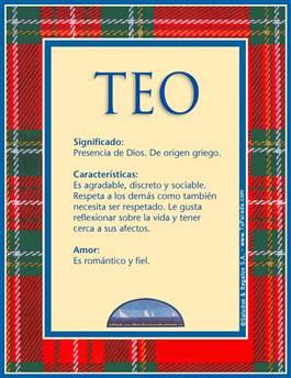 Nombre Teo