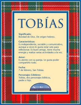 Nombre Tobías