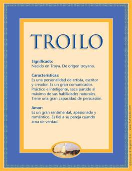 Nombre Troilo