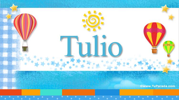 Tulio, imagen de Tulio