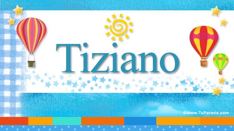 Tiziano, imagen de Tiziano