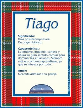 Nombre Tiago