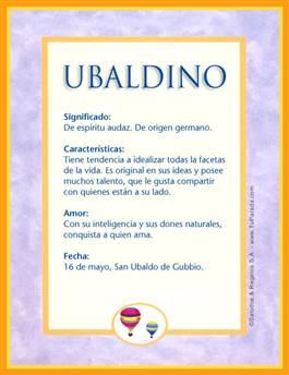 Nombre Ubaldino