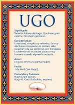 Nombre Ugo