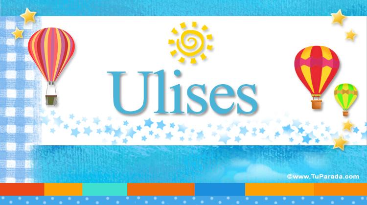 Ulises, imagen de Ulises