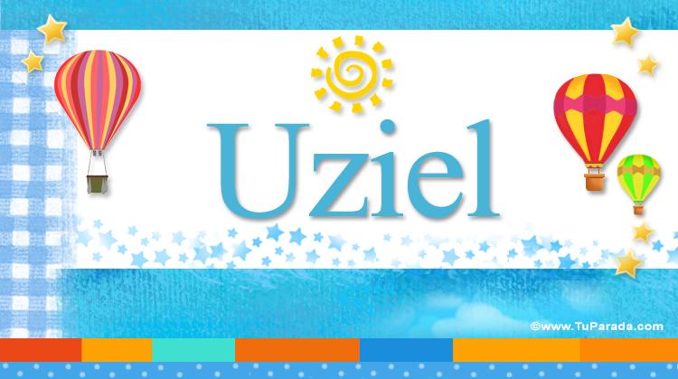 Uziel, imagen de Uziel