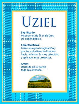 Nombre Uziel