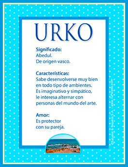 Nombre Urko