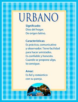 Nombre Urbano