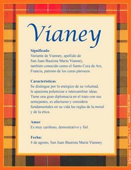 Nombre Vianey
