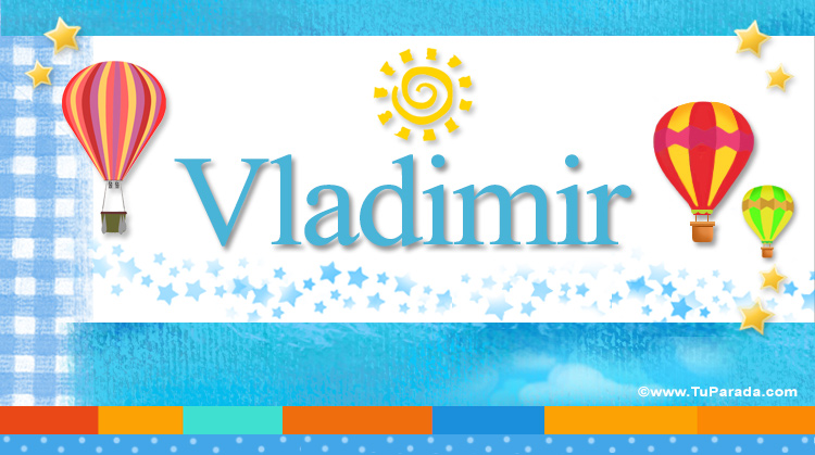 Vladimir, imagen de Vladimir