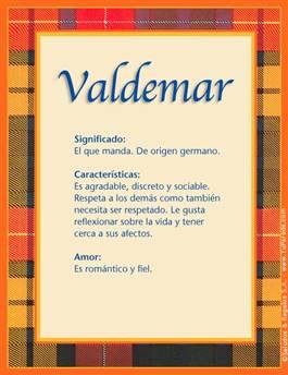 Nombre Valdemar