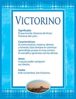 Nombre Victorino