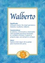 Nombre Walberto