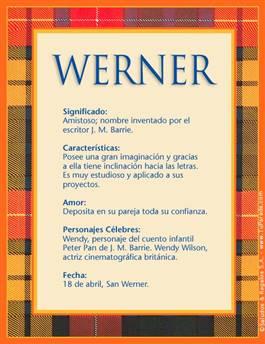 Nombre Werner