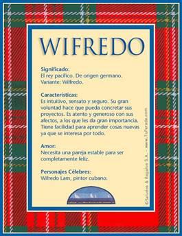 Nombre Wifredo