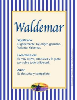 Nombre Waldemar