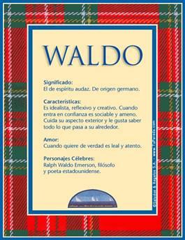 Nombre Waldo