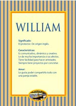 Nombre William