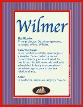 Nombre Wilmer
