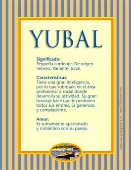 Nombre Yubal