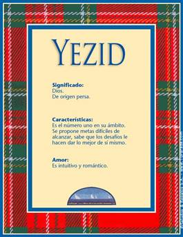 Nombre Yezid