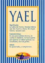 Nombre Yael