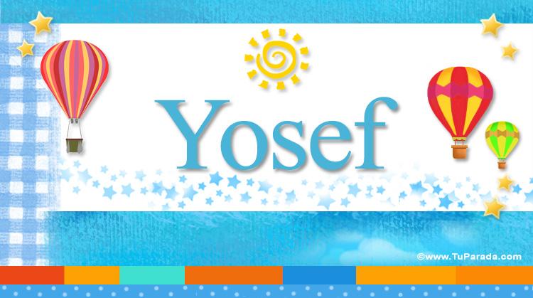 Yosef, imagen de Yosef