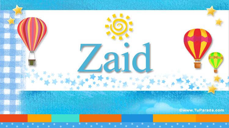 Zaid, imagen de Zaid