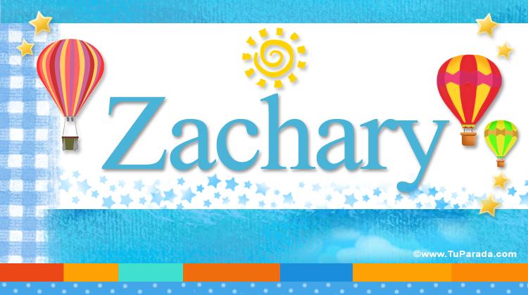 Zachary, imagen de Zachary