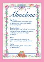 Nombre Almudena