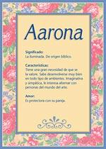 Aarona