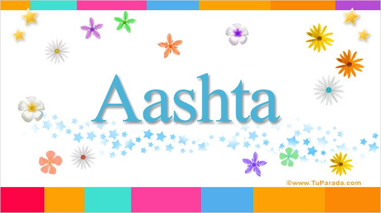 Aashta, imagen de Aashta