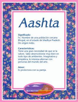Nombre Aashta