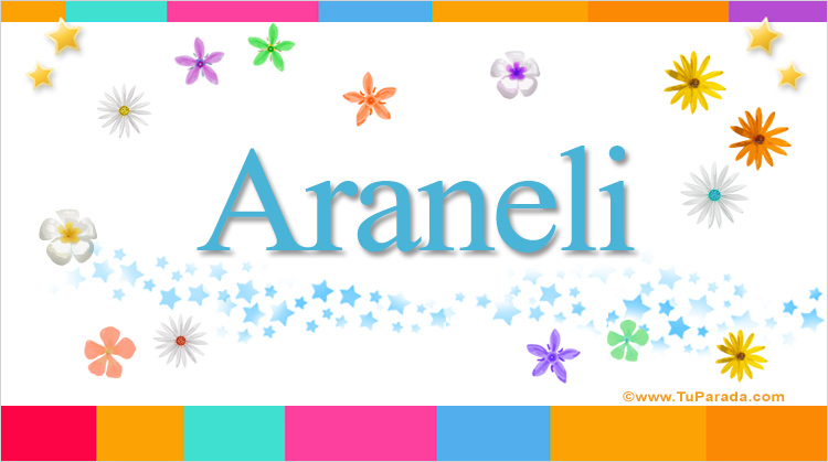 Araneli, imagen de Araneli
