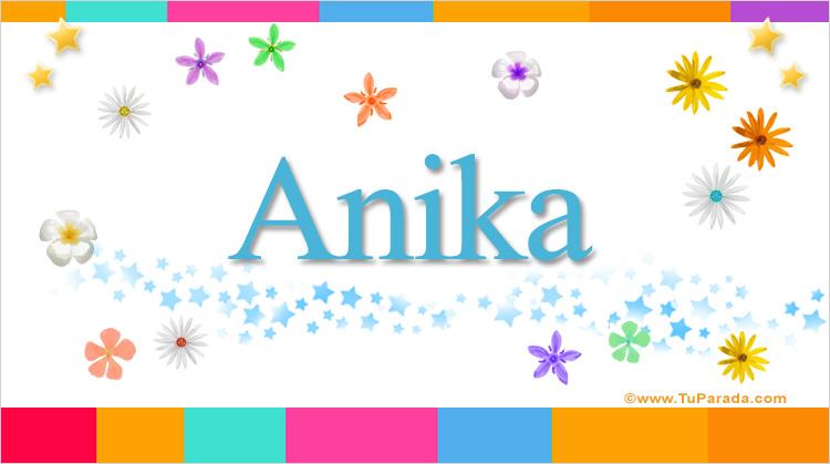 Anika, imagen de Anika