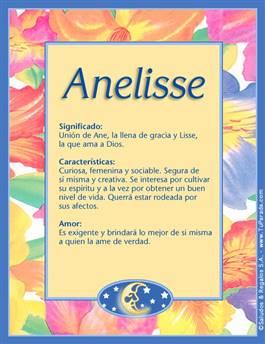Nombre Anelisse