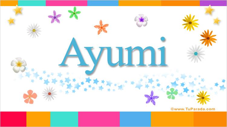 Ayumi, imagen de Ayumi