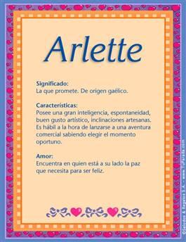 Nombre Arlette