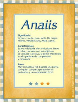 Nombre Anaiis