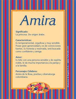 Nombre Amira