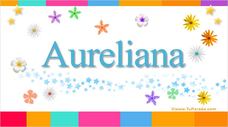 Aureliana, imagen de Aureliana