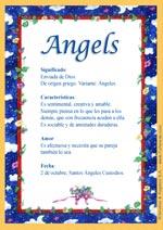 Nombre Angels