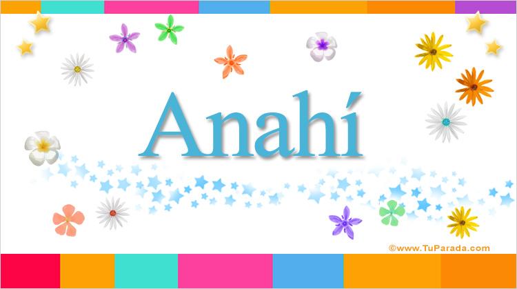 Anahí, imagen de Anahí