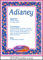 Adianey